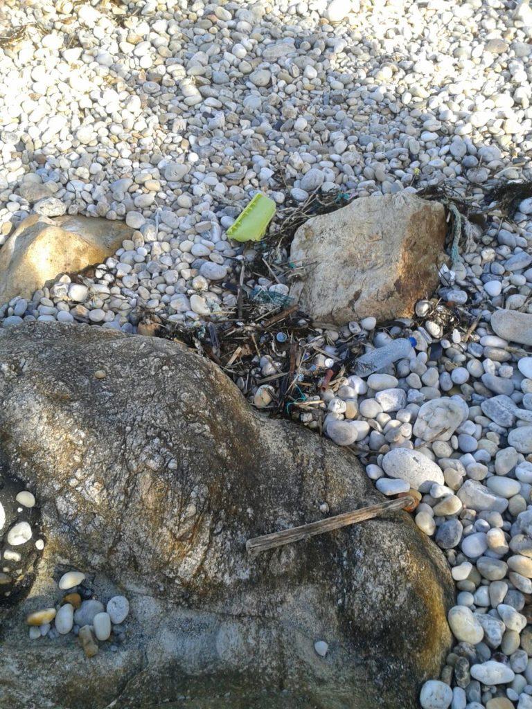 Basura marina en zonas costeras