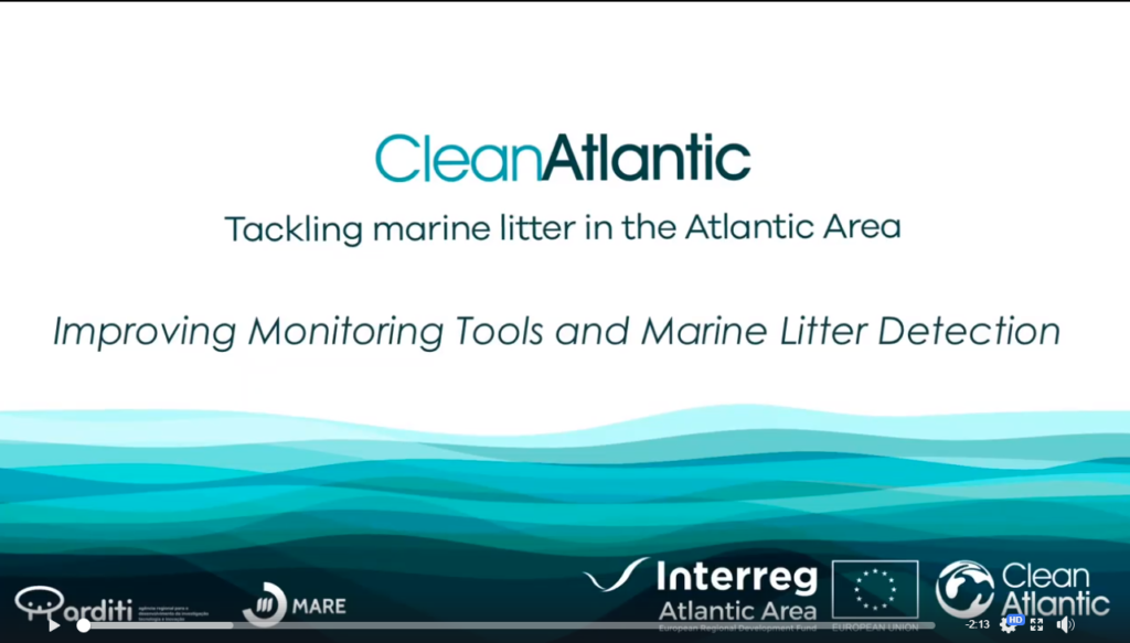 Improving monitoring tools and marine litter detection