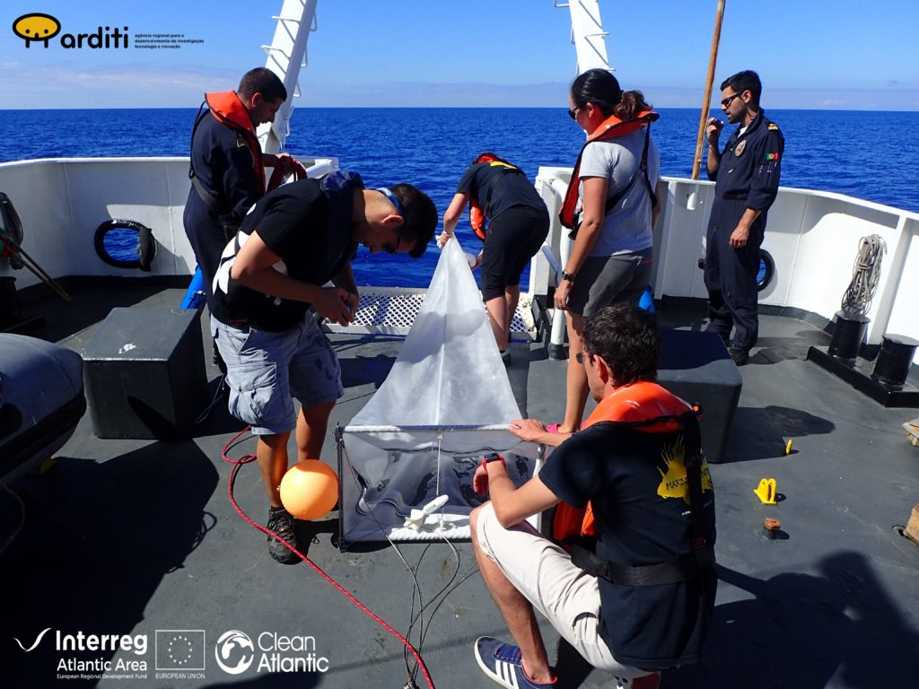 Monitoring floating marine litter
